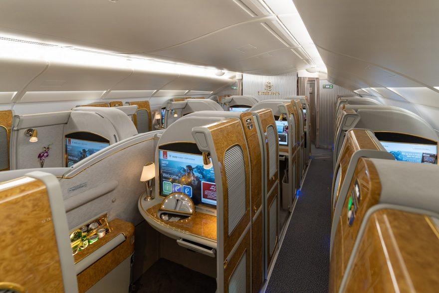 EK A380 F LGW DXB 3 880x587 - REVIEW - Emirates : First Class - A380 - London (LGW) to Dubai (DXB)
