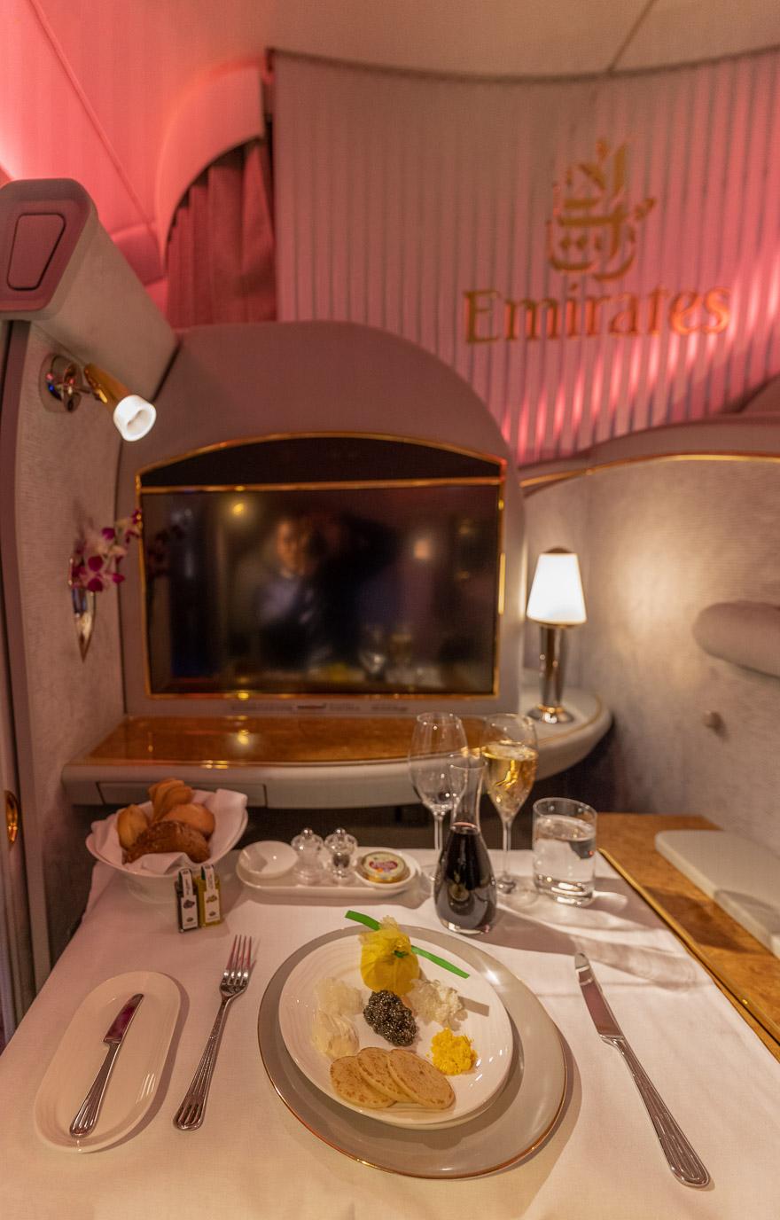 EK A380 F LGW DXB 46 - REVIEW - Emirates : First Class - A380 - London (LGW) to Dubai (DXB)