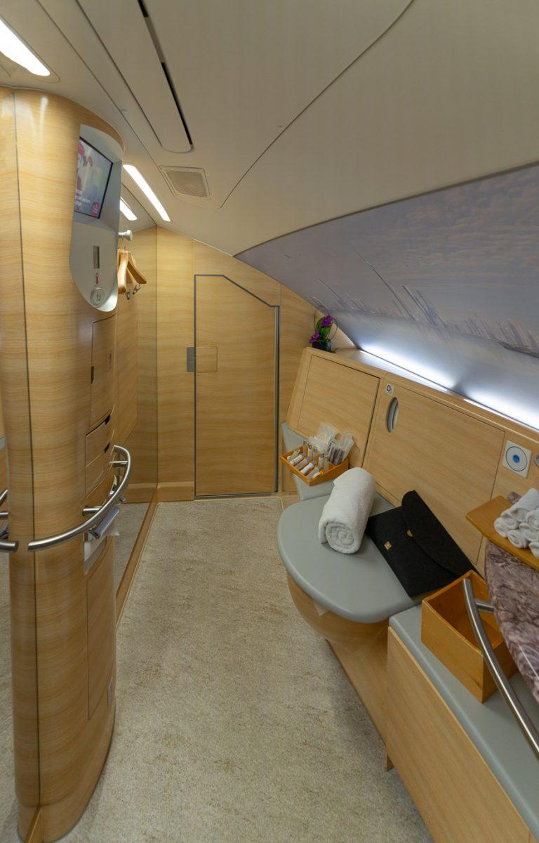 EK A380 F LGW DXB 53 768x1200 - REVIEW - Emirates : First Class - A380 - London (LGW) to Dubai (DXB)