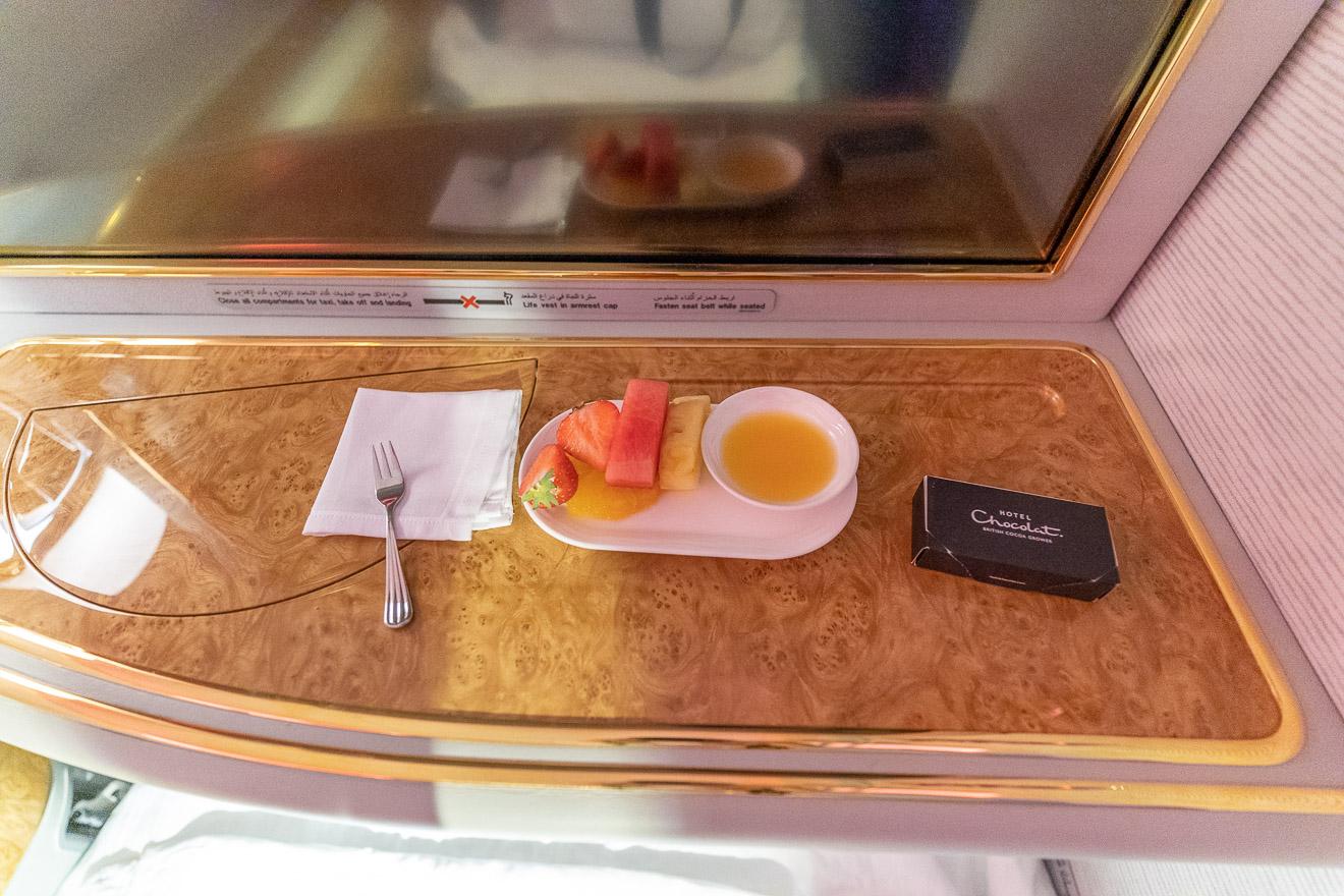 EK A380 F LGW DXB 66 - REVIEW - Emirates : First Class - A380 - London (LGW) to Dubai (DXB)