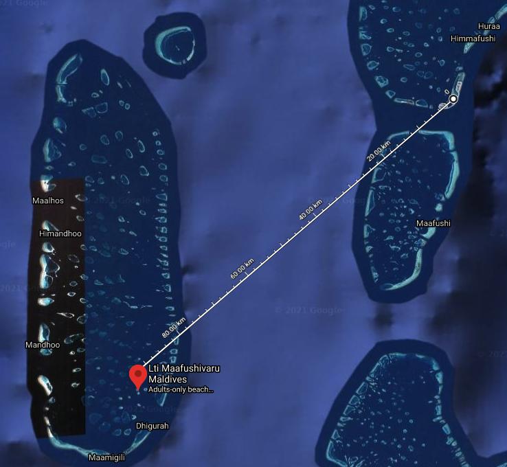 map maafushivaru seaplane - REVIEW - Lti Maafushivaru : Water Pool Villa