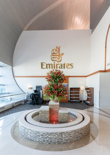EK F lounge C gates 1 450x636 - REVIEW - Emirates Lounge - Dubai (DXB) - C Concourse
