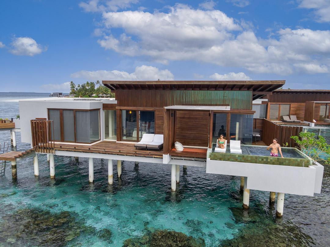 Park Hyatt Maldives - Sunset Overwater Pool Villa
