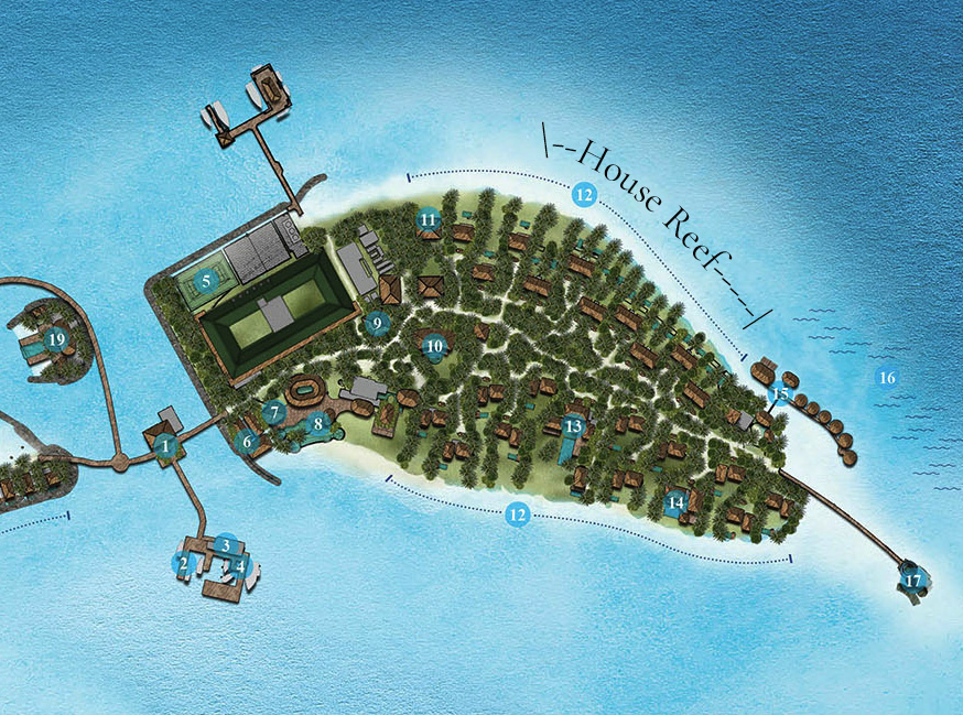 IC house reef - REVIEW - InterContinental Maldives