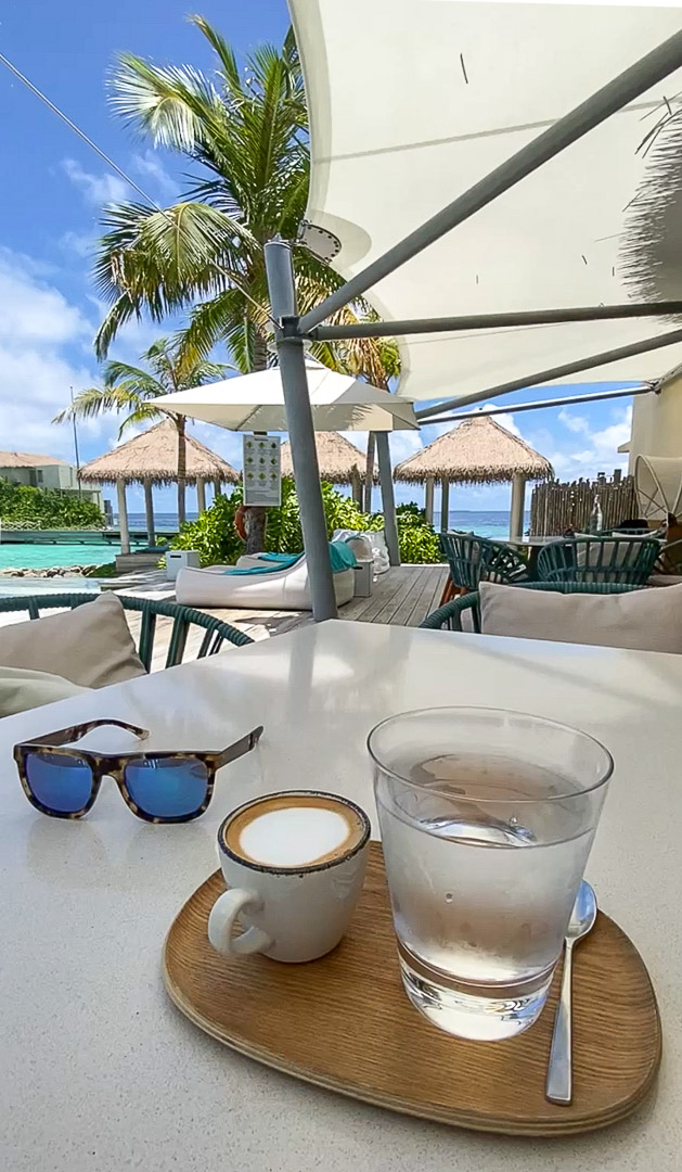 IC retreat coffee 1 - REVIEW - InterContinental Maldives