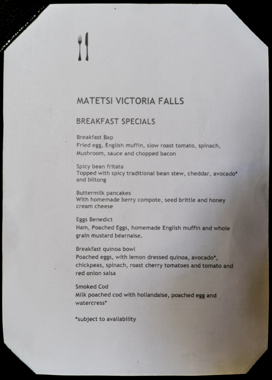 Matetsi 100 - REVIEW - Matetsi Victoria Falls (Zimbabwe)